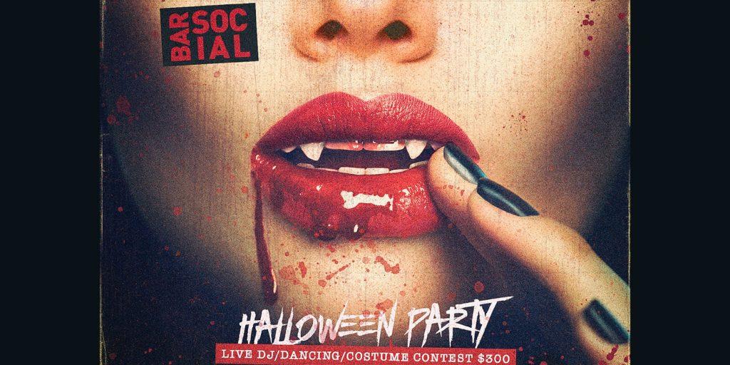 Bar Social Halloween Party