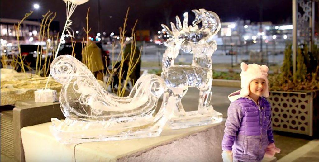 Ice Sculpture Stroll
